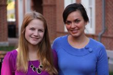 Clinical & School Pyschology Graduate Students Sadie Hasbrouck and Catherine Sanger