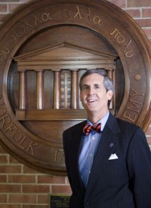 Norfolk Academy Head of School Dennis Manning